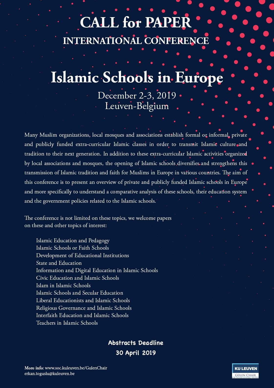 Calenda - Islamic Schools in Europe